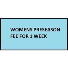 CURUFC - Womens Pre-season 1 Week