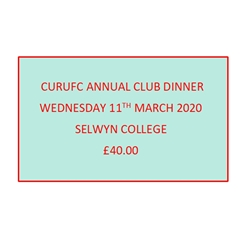 CURUFC - CURUFC Annual Club Dinner 2020