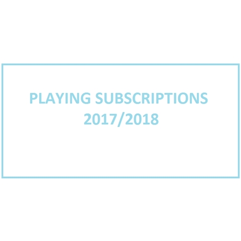 CURUFC - Playing Subs 2017-18